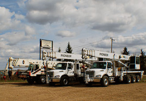 Pioneer Machine Crane Service | Pioneer Machine and Crane | Alberta Machine Rentals and Shop